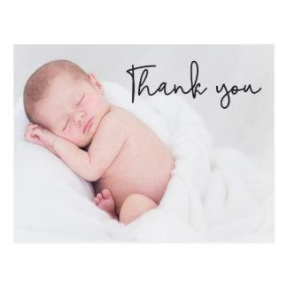 Dank u en van de Geboorte van het Baby Briefkaart