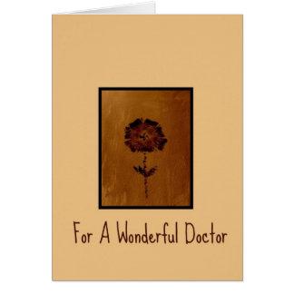 Dank u kaarden voor een Prachtige Arts Briefkaarten 0