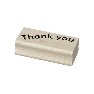 Dank u rubberzegel rubberstempel