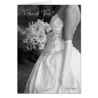 Dank u voor het maken van onze huwelijksdag zo briefkaarten 0