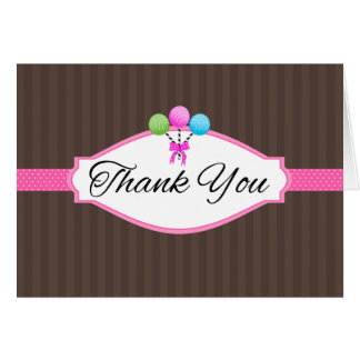 Dank u voor Uw Kaarten van de Nota Poppen van de