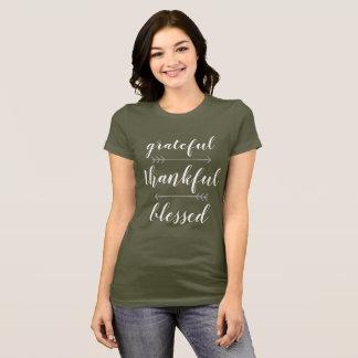Dankbaar Dankbaar Heilig Overhemd T Shirt
