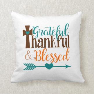 Dankbaar Dankbaar Hoofdkussen Sierkussen