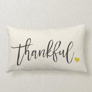 Dankbaar, Thanksgiving gift-2 Lumbar Kussen