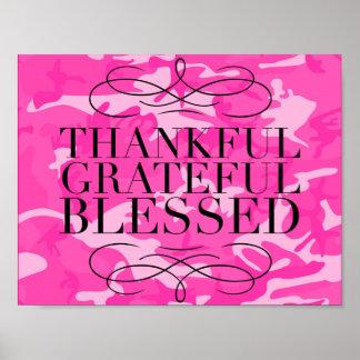 Dankbare Heilig Dankbaar Poster