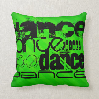 Dans; De Groene Strepen van het neon Sierkussen