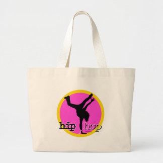 Dans - de roze zak van Hip Hop Jumbo Draagtas