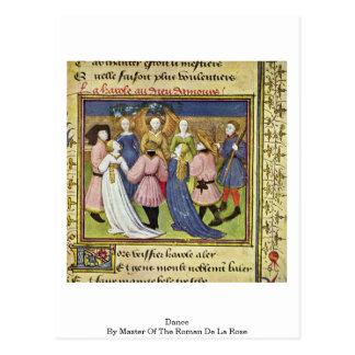 Dans door Meester van Roman DE La Rose Briefkaart