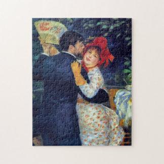 Dans in het Fijne Art. van Renoir van het Land Foto Puzzels