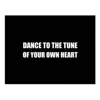 Dans om Hart te bezitten Briefkaart