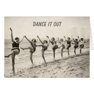 Dans uit Uw Verjaardag (verjaardagskaart) Wenskaart