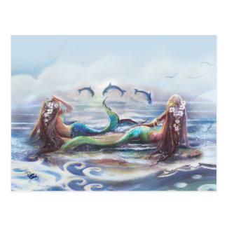 Dans van de Dolfijnen Briefkaart
