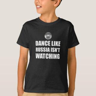 Dans zoals Rusland die letten niet op T Shirt