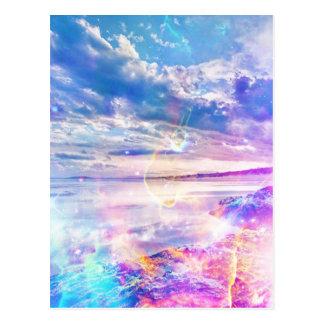 Dansend Zee Briefkaart