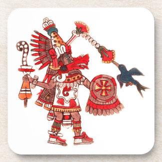 Dansende Azteekse medicijnmanstrijder Bier Onderzetter