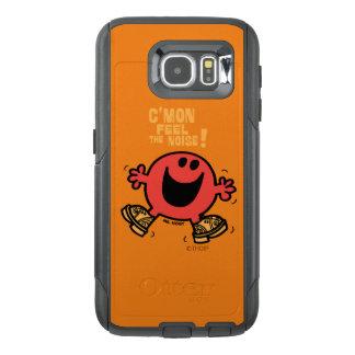 Dansende M. Noisy van de belemmering OtterBox Samsung Galaxy S6 Hoesje