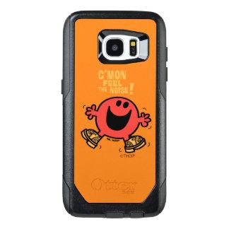 Dansende M. Noisy van de belemmering OtterBox Samsung Galaxy S7 Edge Hoesje