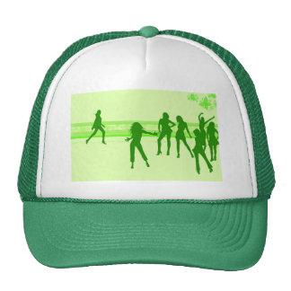 dansende meisjes trucker cap