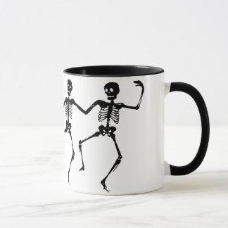 Dansende Skeletten (Halloween) Mok