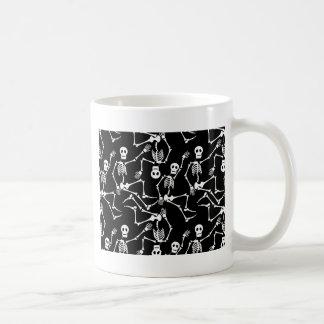 Dansende skeletten koffiemok