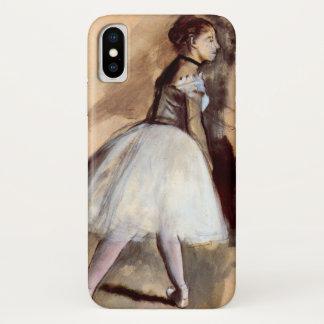Danser die zich door Edgar Degas, het Vintage Art. iPhone X Hoesje