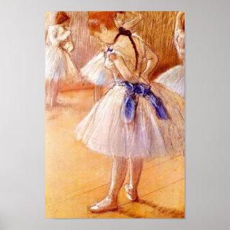 Danser door Degas Poster