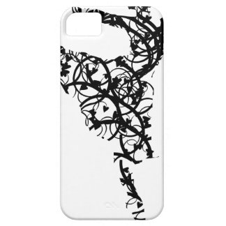 danser hearts2 barely there iPhone 5 hoesje