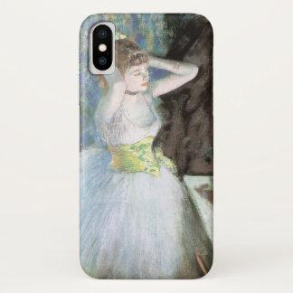 Danser in Haar Kleedkamer door Edgar Degas iPhone X Hoesje