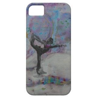 Danser in het Meisje van de Yoga van de Sneeuw Barely There iPhone 5 Hoesje