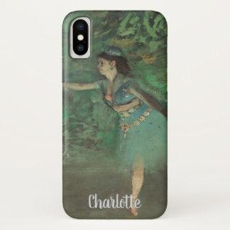 Danser op het Stadium door Edgar Degas, Vintage iPhone X Hoesje