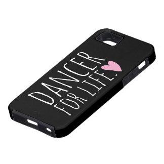 Danser voor de Zwarte van het Leven met Hart Tough iPhone 5 Hoesje