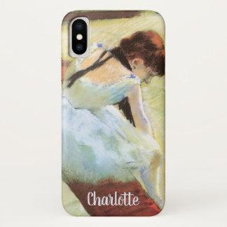 Dansers die door Edgar Degas, het Vintage Art. van iPhone X Hoesje