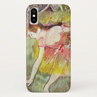 Dansers die neer door Edgar Degas, het Art. van iPhone X Hoesje