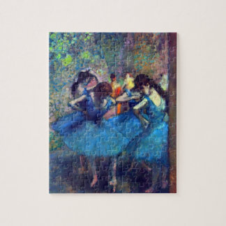Dansers in Blauw door Edgar Degas, het Vintage Legpuzzel