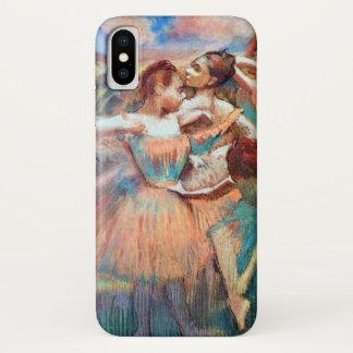 Dansers in een Landschap door Edgar Degas iPhone X Hoesje
