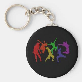 Dansers Keychain Sleutelhanger