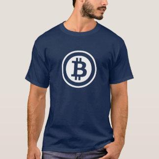 Dark van de T-shirt van BitCoin