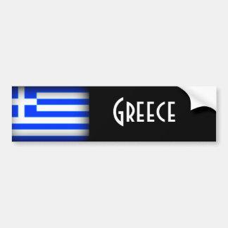 Dark van de Vlag van Griekenland Bumpersticker