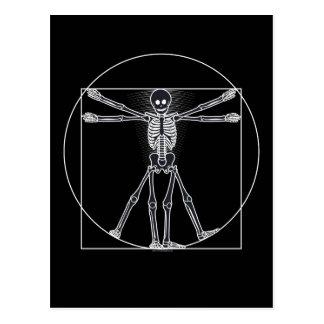 Dark van het Skelet van Vitruvian Briefkaart