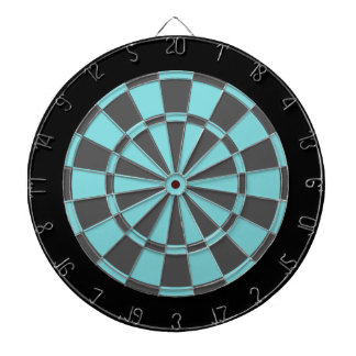 Dartboard: Grijze Aqua, Houtskool, en Zwarte Dartbord
