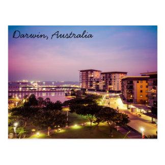 Darwin, het Briefkaart van Australië