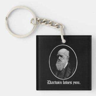 Darwin houdt van u - de Evolutie van het Team - - Sleutelhanger