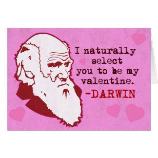 Darwin, selecteert u natuurlijk Valen… Briefkaarten 0