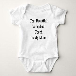 Dat de Mooie Bus van het Volleyball Mijn Mamma is Romper