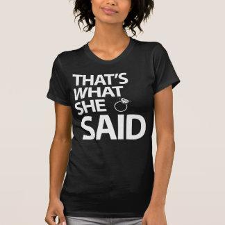 Dat is Wat zij de Overhemden van de Partij van de T Shirt