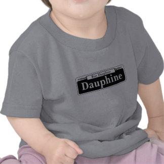Dauphine St., New Orleans het Teken van de Straat T Shirts