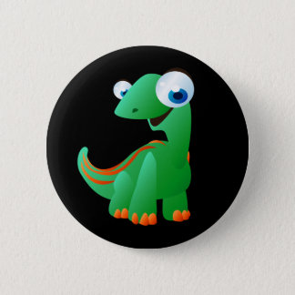 David de Dinosaurus Ronde Button 5,7 Cm