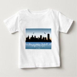 DD-nieuw-York-horizon-illustratie-67120-voorproef Baby T Shirts