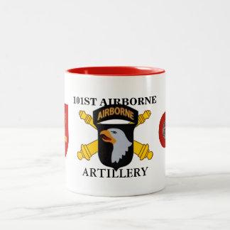 de 101ste Mok In de lucht van de Artillerie