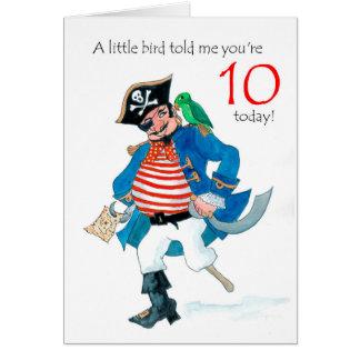 De 10de Verjaardag van de Piraat en van de Kaart